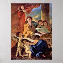 Nicolas Poussin - St Cecilia Poster
