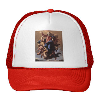 Nicolas Poussin- The Assumption of the Virgin Trucker Hat