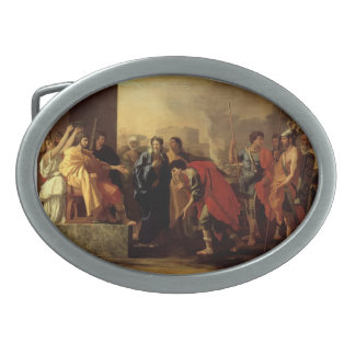 Nicolas Poussin- The Continence of Scipio Belt Buckles