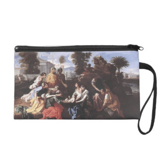 Nicolas Poussin- The Finding of Moses Wristlet