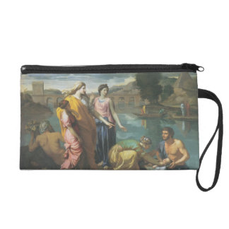 Nicolas Poussin- The Finding of Moses Wristlets