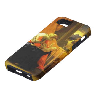 Nicolas Poussin- The Holy Family iPhone 5 Cover