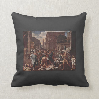 Nicolas Poussin- The Plague at Ashod Pillow