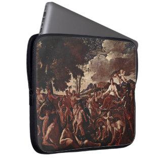 Nicolas Poussin- The Triumph of Flora Laptop Sleeves