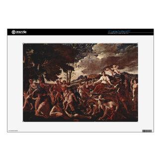 "Nicolas Poussin- The Triumph of Flora Decals For 15"" Laptops"