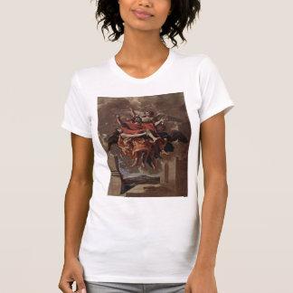 Nicolas Poussin- The Vision of St. Paul Tshirt