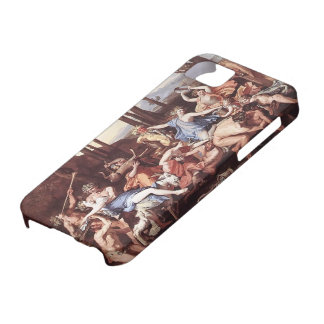 Nicolas Poussin- Triumph of Neptune iPhone 5/5S Covers
