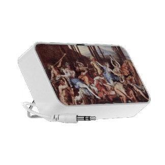 Nicolas Poussin- Triumph of Neptune Travelling Speaker