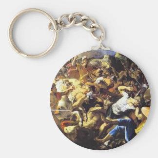 Nicolas Poussin- Victory of Joshua over Amorites Key Chains