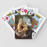 Nicolas Poussin- Virgin and Child Bicycle Poker Cards