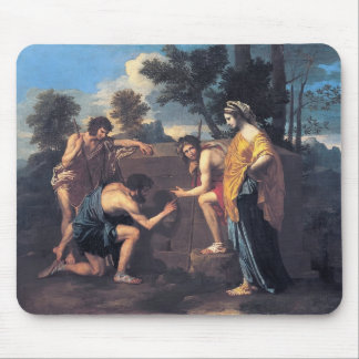 Nicolás Poussin- y en ego de la Arcadia Alfombrillas De Ratón