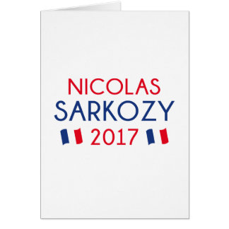 Nicolas Sarkozy 2017 Card