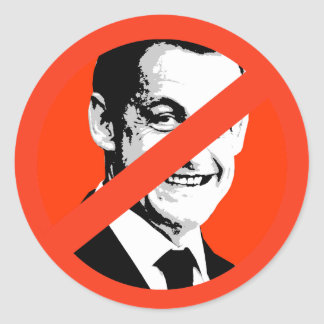Nicolas Sarkozy Etiqueta Redonda