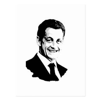 Nicolas Sarkozy Postcard