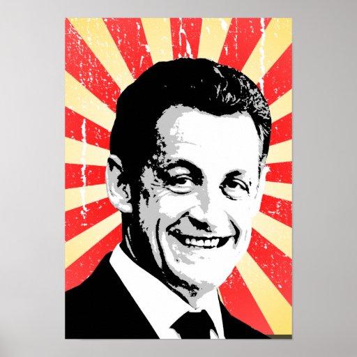 Nicolas Sarkozy Poster