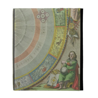 Nicolaus Copernicus (1473-1543), detail from a Map iPad Folio Cover