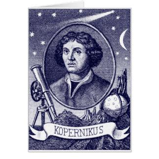 Nicolaus Copernicus Card