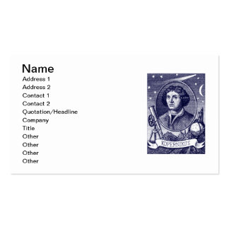 Nicolaus Copernicus Double-Sided Standard Business Cards (Pack Of 100)