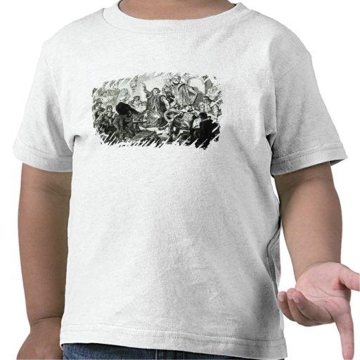 Nicolaus Copernicus  Explaining his Theory T Shirt
