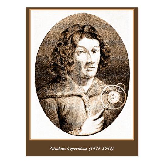 Nicolaus Copernicus Postcard