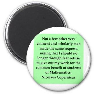 nicolaus copernicus quote 2 inch round magnet