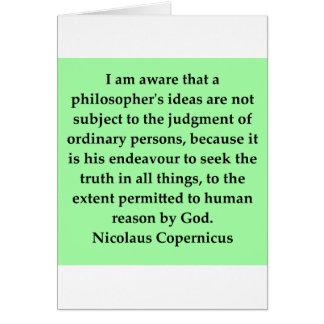 nicolaus copernicus quote cards