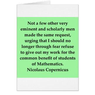 nicolaus copernicus quote greeting cards
