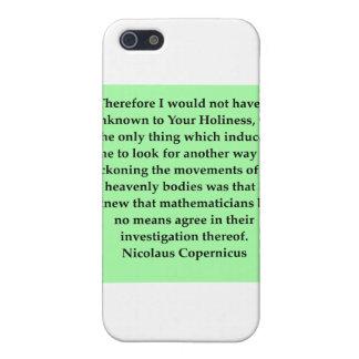 nicolaus copernicus quote case for iPhone SE/5/5s