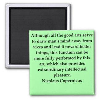 nicolaus copernicus quote refrigerator magnet