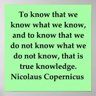 nicolaus copernicus quote print