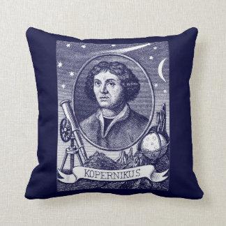 Nicolaus Copernicus Throw Pillow