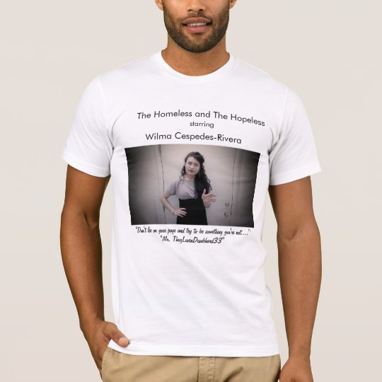 Nicole:Don't Lie On Your Page(White) T-Shirt