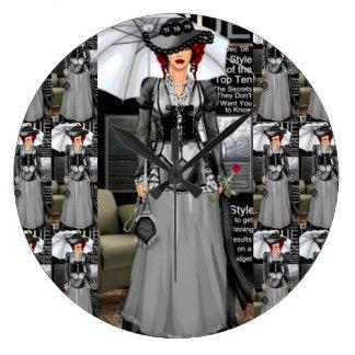 Nicole ~ Fashion Vixens Collectible Wall Clock