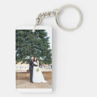 Nicole + Jesse's Wedding Keychain
