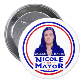 Nicole Malliotakis for NYC Mayor Pinback Button