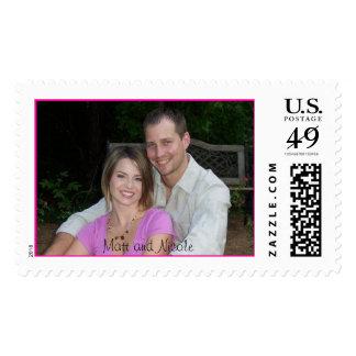 Nicole & Matt stamp1, Matt and Nicole Postage