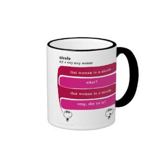 nicole mugs