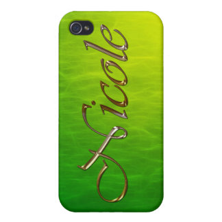 NICOLE Name Branded iPhone Cover