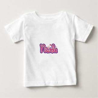 Nicole Name Personalized Baby T-Shirt
