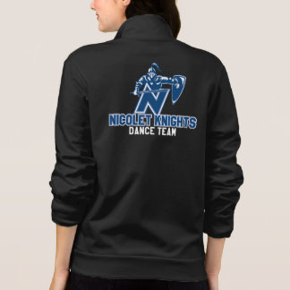 Nicolet Knights Dance Team American Apparel Jogger Jacket
