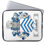Nicoletti Family Crest Computer Sleeves