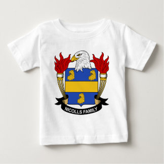 Nicolls Family Crest Baby T-Shirt