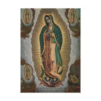Nicols Enrquez The Virgin of Guadalupe Canvas Print