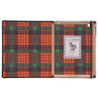 Nicolson clan Plaid Scottish tartan Cover For iPad