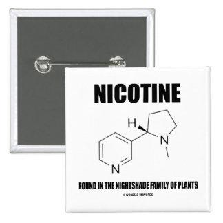 Nicotina encontrada en la familia del Nightshade d Pins