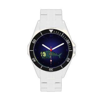 nictófido reloj de mano