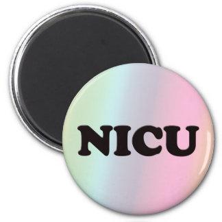 NICU 2 INCH ROUND MAGNET