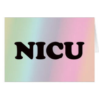 NICU CARDS