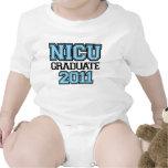 NICU Graduate Boy 2011 Baby Bodysuit