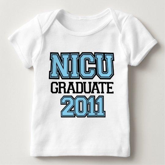 NICU Graduate Boy 2011 Baby T-Shirt